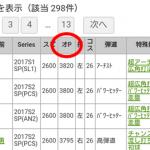 【プロスピA】オーダーPt順の並び替えを追加しました【エージェントA】